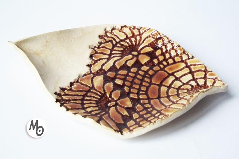 Mydelniczka wykonana z ceramiki
