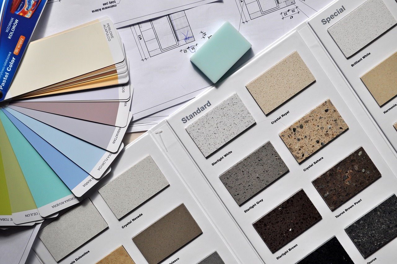 Paleta kolorów do aranżacji wnętrza