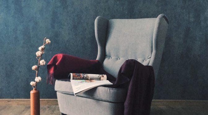 Fotel idealny do salonu lub pokoju gościnnego